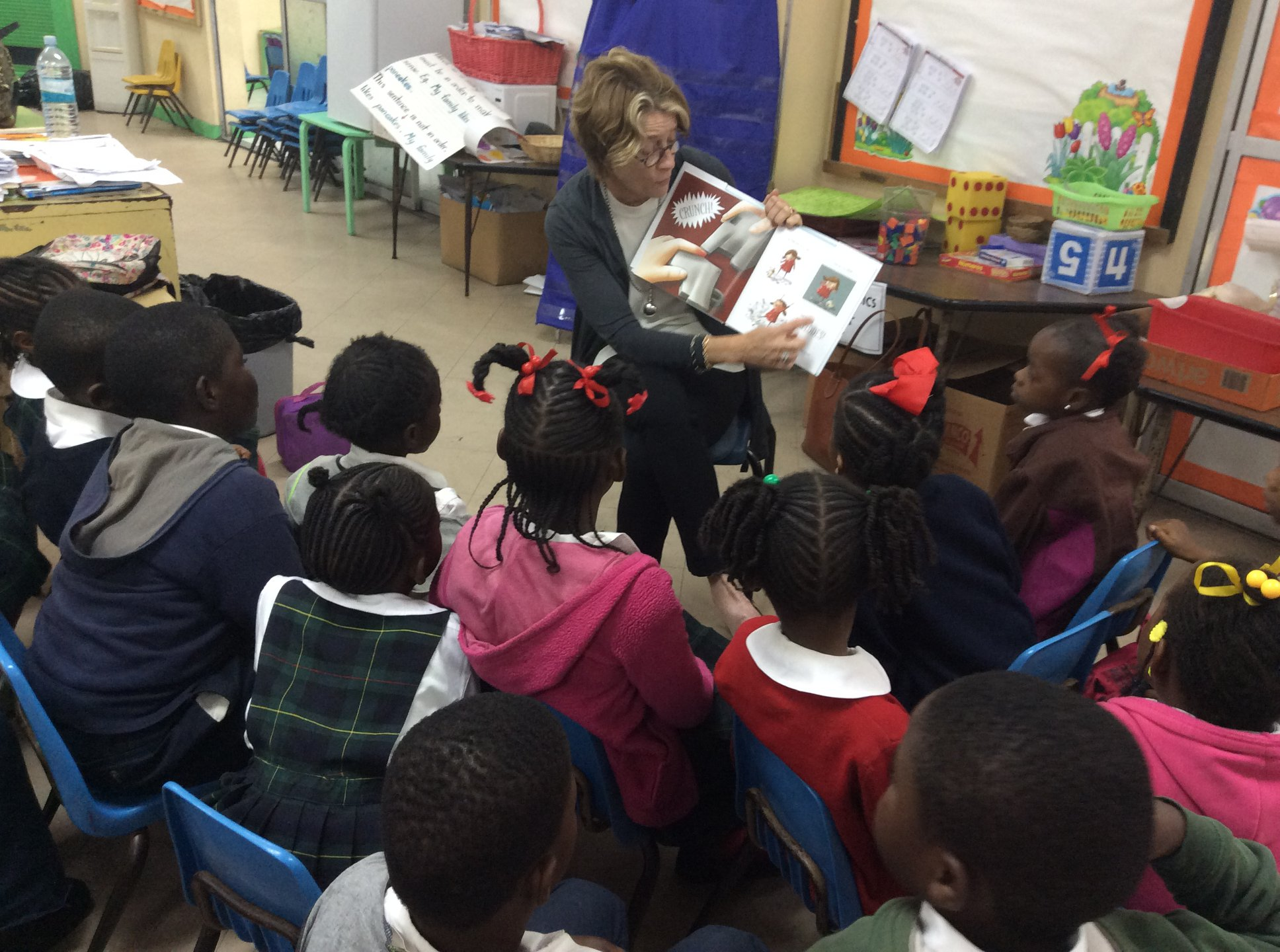 Graham Thompson Collaborates with the Volunteer Reading Project
