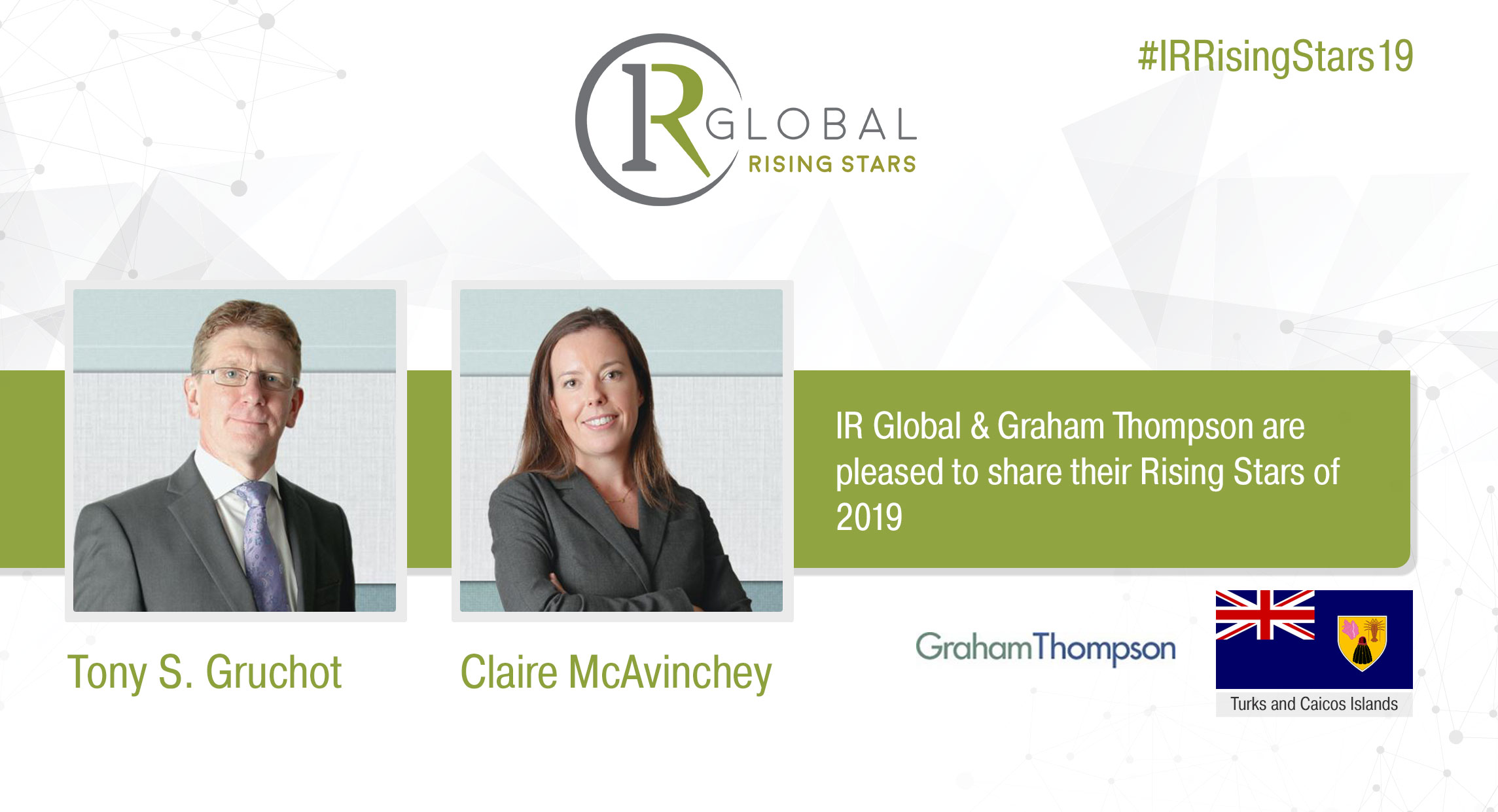 Graham Thompson's IR Global 2019 Rising Stars