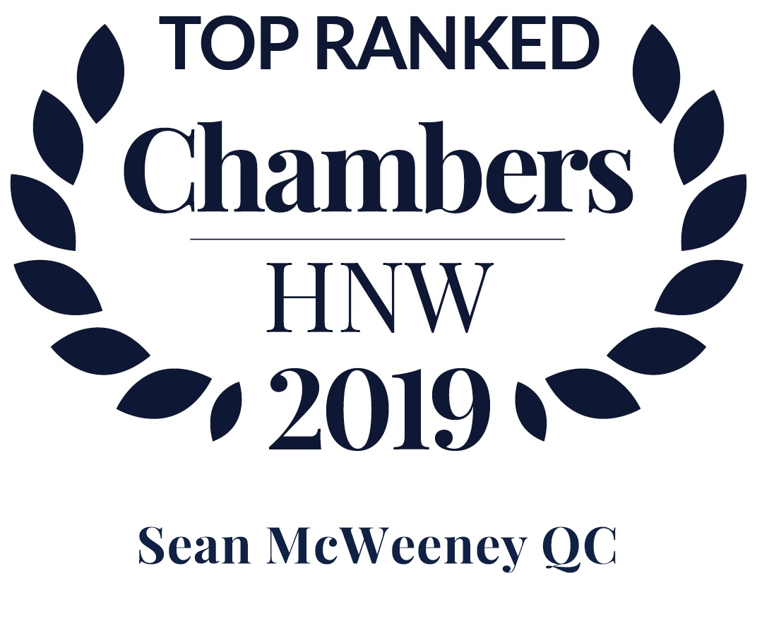 Chambers HNW 2019 Sean McWeeney