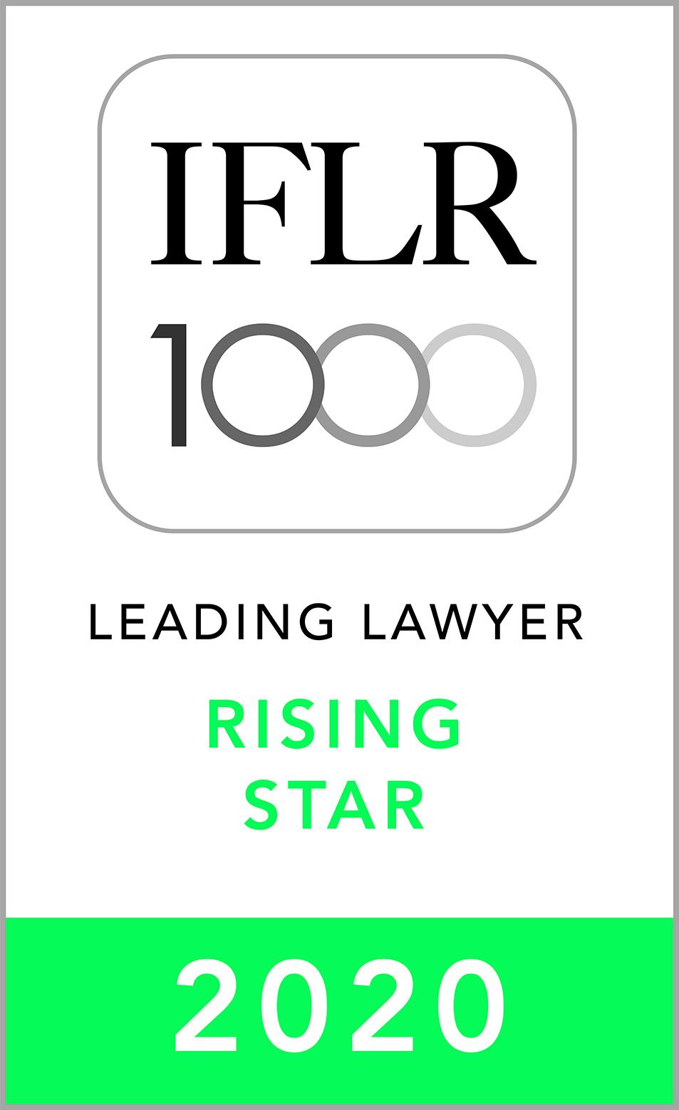 IFLR1000 2020 Rising Star