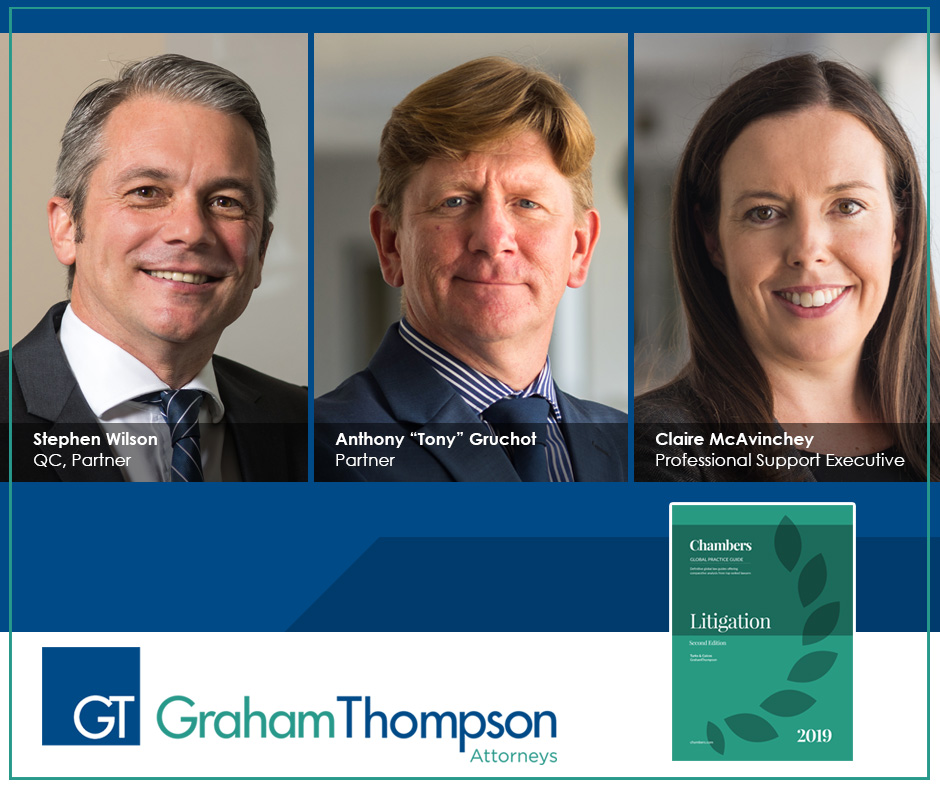 Wilson, Gruchot and McAvinchey Author Chambers Litigation Guide
