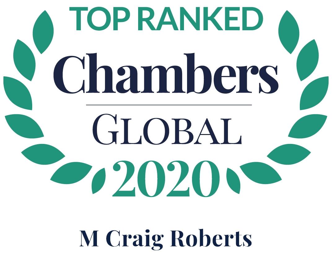 Chambers Global 2020, CRoberts