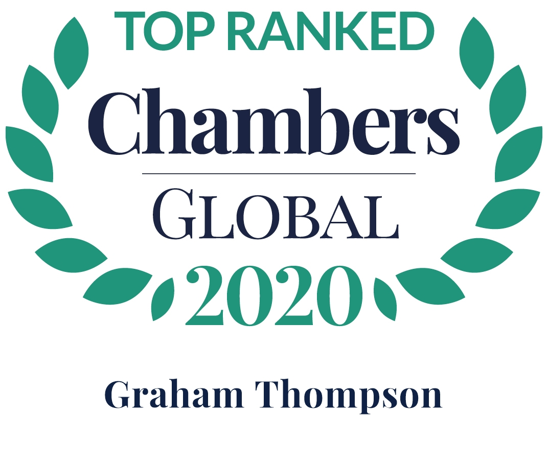 GRAHAMTHOMPSON IS TOP RANKED AGAIN – CHAMBERS AND PARTNERS GLOBAL 2020