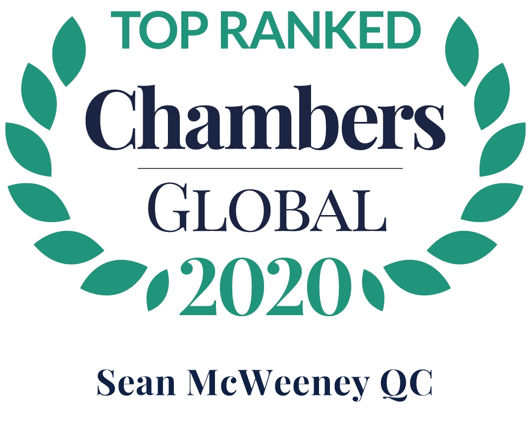 Chambers Global 2020, SMcW QC