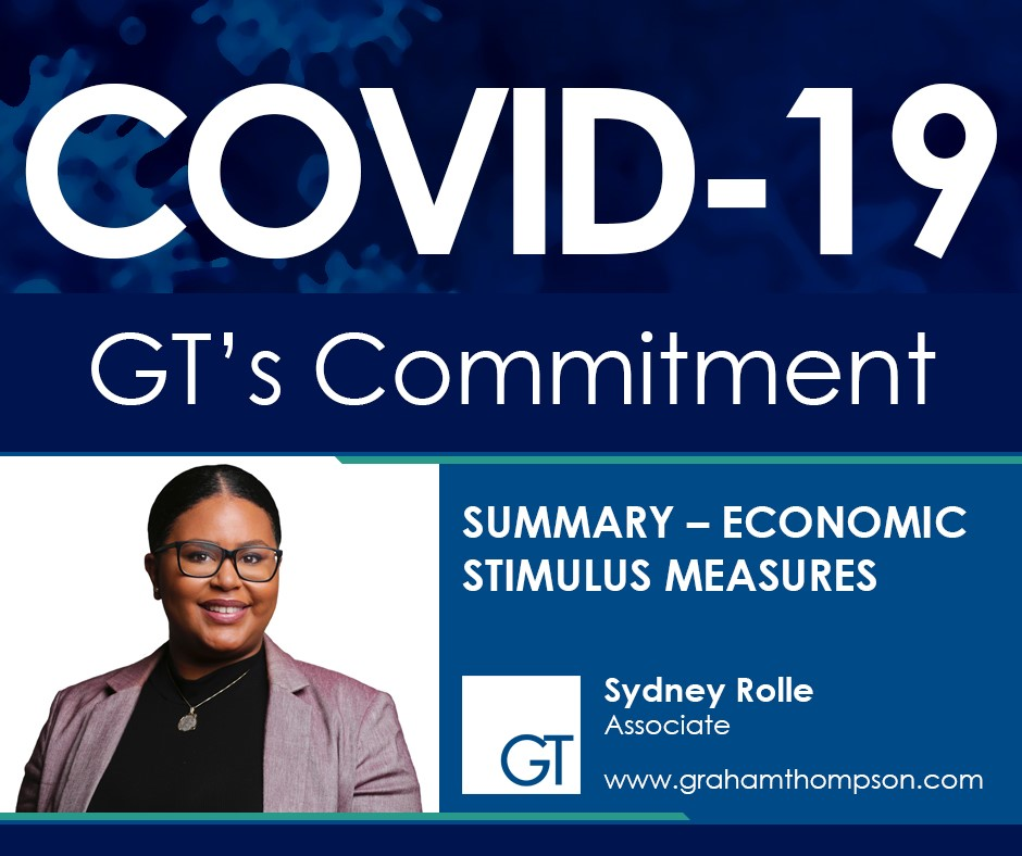 Government's COVID 19 Stimulus Measures