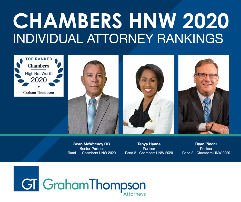 GRAHAMTHOMPSON RECEIVES TOP 2020 HNW RANKING
