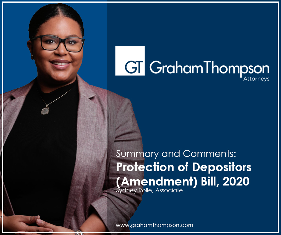 SUMMARY AND COMMENTS: PROTECTION OF DEPOSITORS (AMENDMENT) BILL, 2020