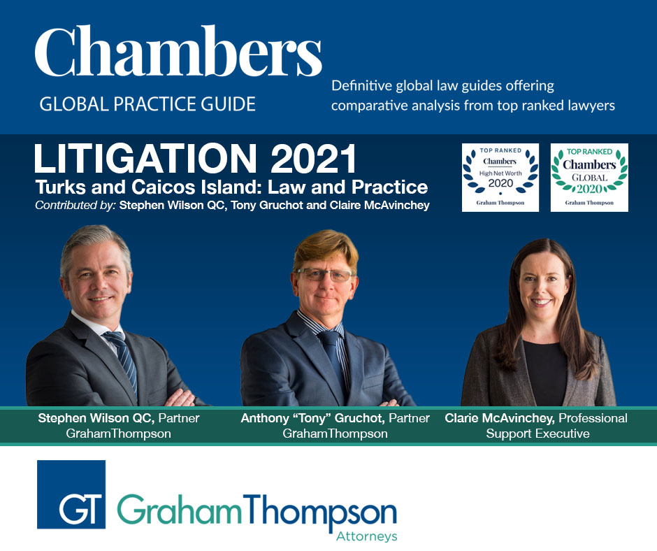 WILSON, GRUCHOT, MCAVINCHEY AUTHOR CHAMBERS LITIGATION GUIDE, TCI