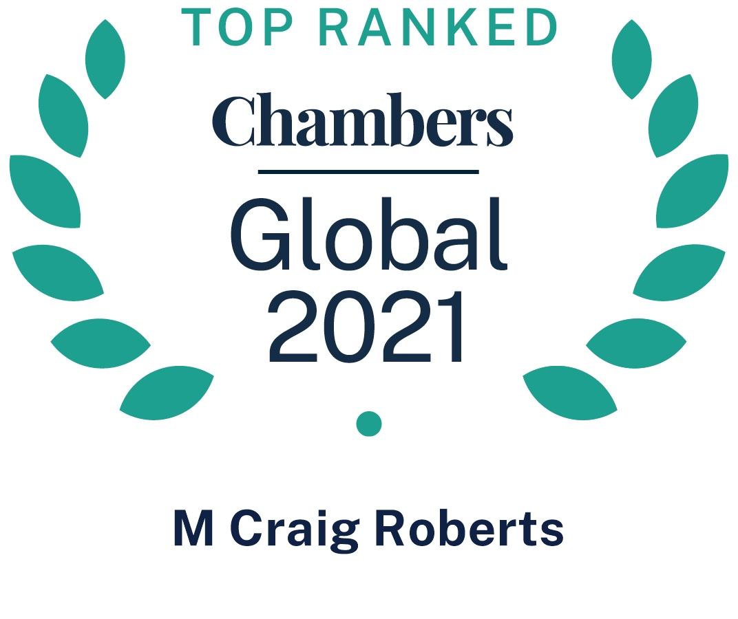 Chambers Global 2021, CRoberts