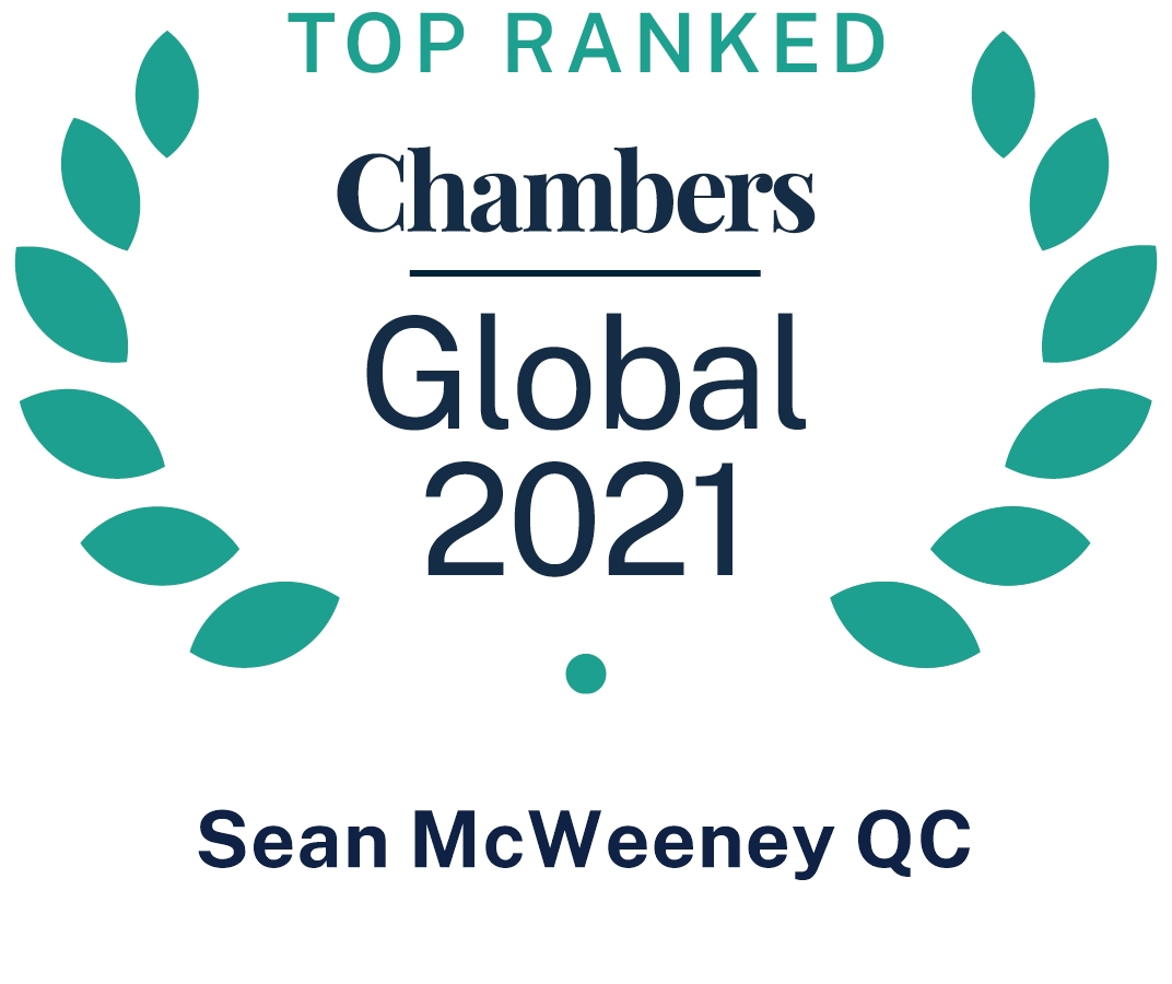 Chambers Global 2021, SMcW QC