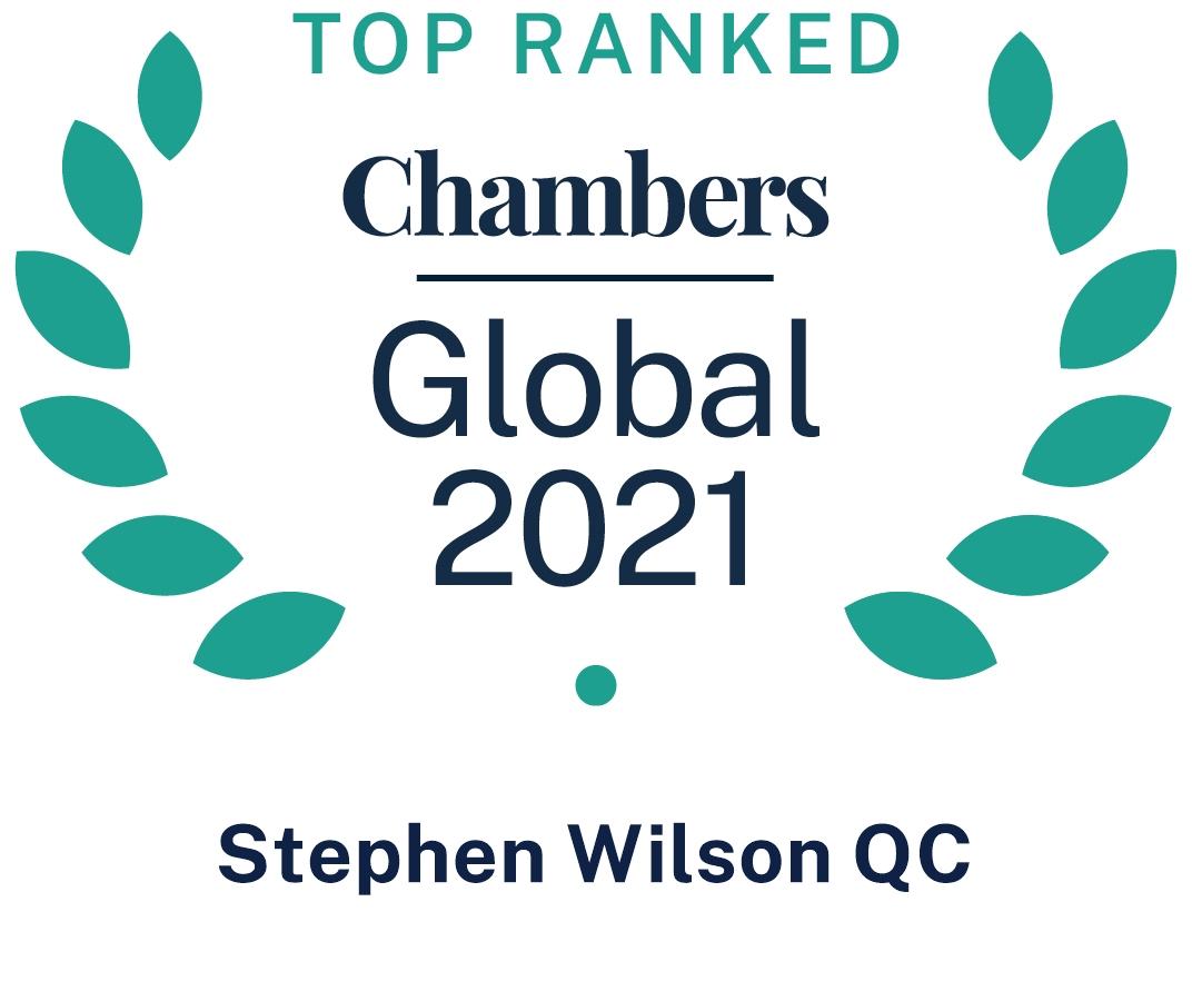 Chambers Global 2021, SWilson