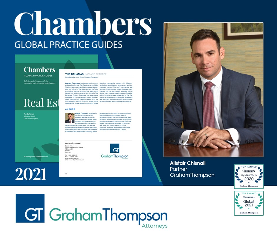 CHISNALL PENS CHAMBERS AND PARTNERS' 2021 REAL ESTATE GLOBAL PRACTICE GUIDE